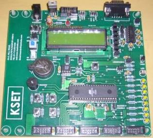 KSET Embedded Development Board (includes USB Programmer)