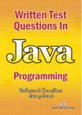 Written Test Questions in Java Programming (Book)